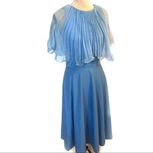 Perfect vintage powder Blue Party dress